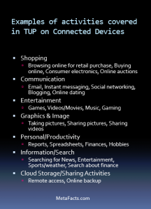 TUP Spans a Full Range of Activities